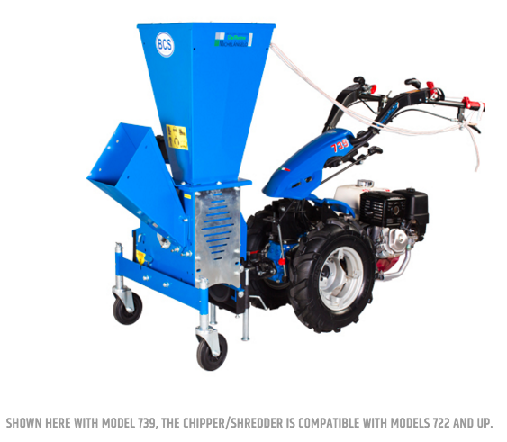 BCS Chipper/Shredder