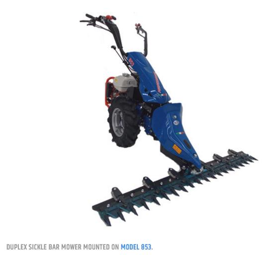 BCS Duplex Sickle Bar Mower