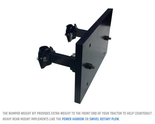 BCS Bumper Weight Kit