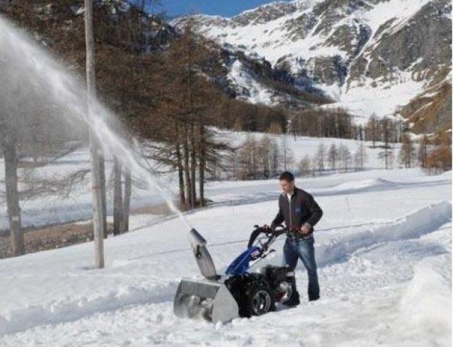 BCS Snow Thrower