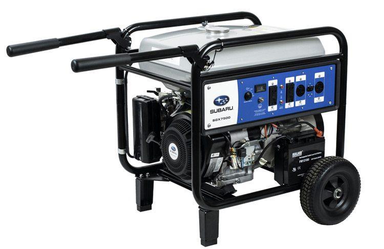 Subaru Commercial Generator