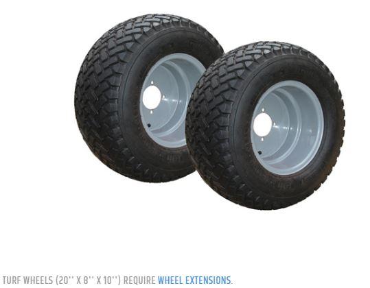 turf wheels