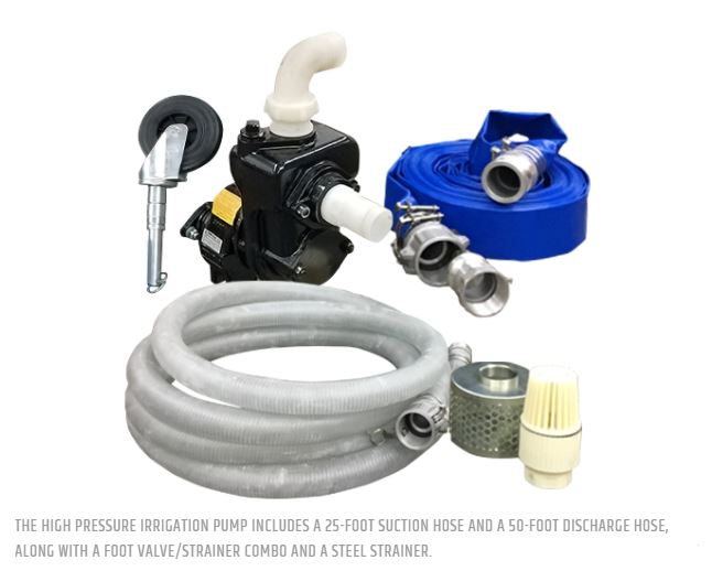 High pressure irrigation pump wes stauffer equipment llc